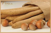 Whole Wheat & Hazelnut Breadsticks