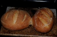French Countryside Bread With Poolish