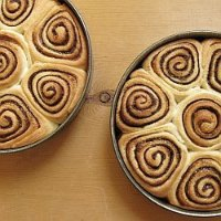 Winter Cinnamon Rolls