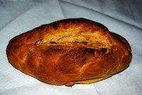 Pan De Tahini Y Mantequilla De Cacahuete