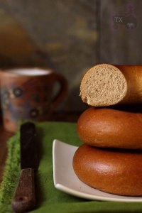 Sourdough Whole Wheat Bagel