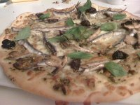 Anchovy&Pesto Pizza