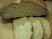 Rose's Hearth Bread With Chives
