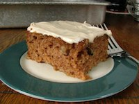 Sourdough Applesauce Cake