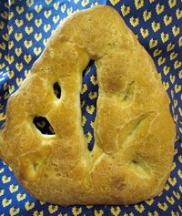 Fougasse With Herbs
