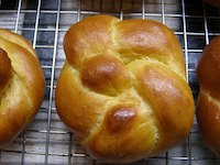 Pumpkin Knotted Dinner Rolls