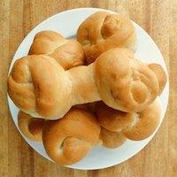 Bread Bones With Cinnamon Almond Marrow
