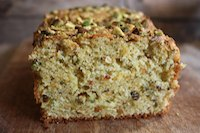 Pistachio Olive Oil Cake With Orange Blossom Water