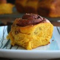 Cinnamon Pumpkin Brioche Snails