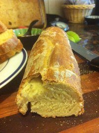 Italian Feather Bread (with Whey)