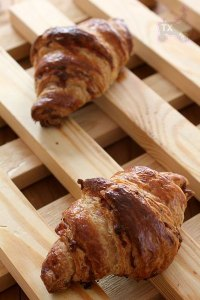Bacon & Cheese Rye Sourdough Croissant