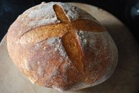 Toasted Wheat Germ And Rosemary Sourdough
