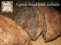 5-grain Bread With Walnuts