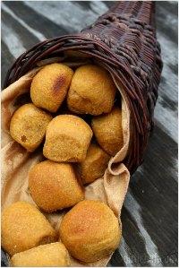 Whole Wheat Pumpkin Rolls
