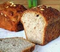 Sprouted Wheat Strawberry Bread