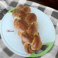 Zaatar And Olives Challah