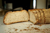 Sourdough Bread (with Discarded Starter)