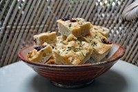 Focaccia With Sundried Tomatoes & Gorgonzola