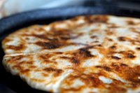 Cheese-Filled Flatbread