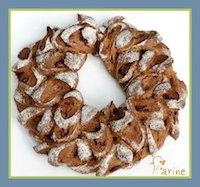 White Whole Wheat Laureal Wreath