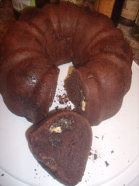 Chocolate Yeast Bread With White Chocolate