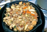 Bacon Walnut Stuffing
