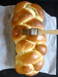 Garlic Herb Braid