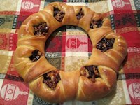 Sourdough Christmas Wreaths
