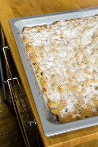 Potato Cake Made From Stollen Dough