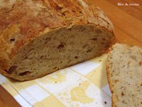 Pan Con Pesto Y Cebolla Frita