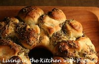 Garlicky Herbed Monkey Bread