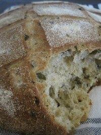 Black Olives Bread