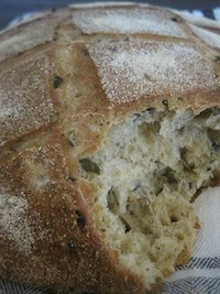 Black Olives Bread