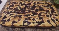 Blueberry Sourdough Focaccia