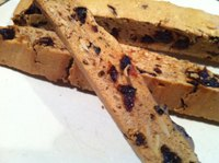 Cherry And Almond Sourdough Biscotti