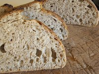 Pain Au Levain With Whole Spelt And Sesame Seeds