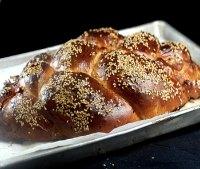 Salted Caramel Apple Sourdough Challah