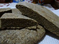 Spinach Sourdough Flat Loaves With Amaranth Flour