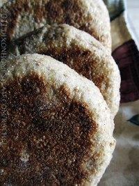 [Whole Wheat] Sourdough English Muffins