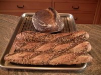 Country Sourdough Seeded Baguette