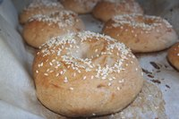 Gluten-free vegan Bagels