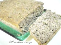 Spinach and ragi bread