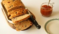 Sundried tomato and Olive bread