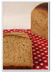 sourdough  100% whole wheat oatmeal sandwich loaf