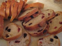 Toasted Raisin Cranberry Slices