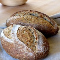 Multigrain Nigella Seed Sourdough