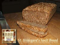 St. Hildegard's Spelt Bread