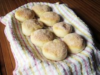 Pillowy Soft Baked Donuts