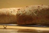 Oat and Wheat Sandwich Bread