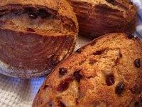 Orange Rye Sourdough w/Cranberries
